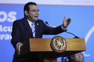 Jimmy Morales dice que hay extranjeros que llaman a levantamientos sociales