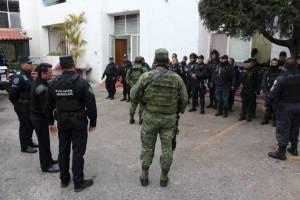 Ejército en Yautepec, Jiutepec y Cuernavaca