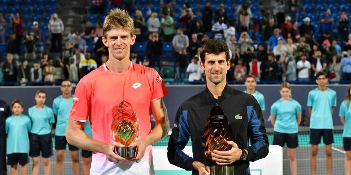 VIDEO. Novak Djokovic cierra con broche de oro este 2018