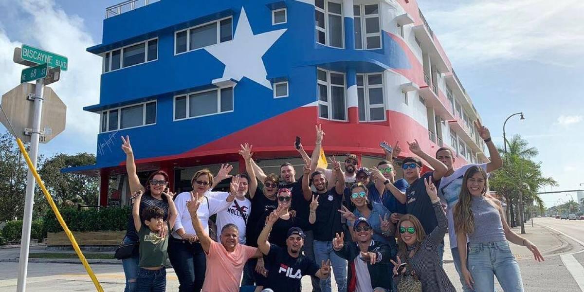 Héctor Collazo lamenta polémica por la bandera boricua pintada en Miami