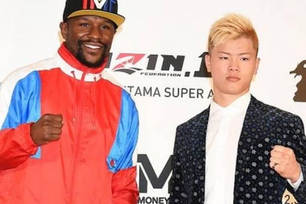 Floyd Mayweather cierra el año en pelea con el japonés Tenshin Nasukawa