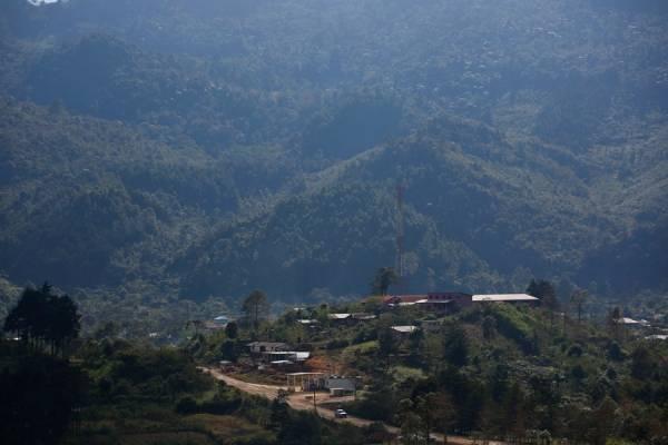 Aldea Yalambojoch en Guatemala