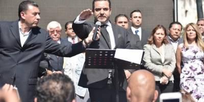 Antonio Villalobos rindió protesta como alcalde de Cuernavaca