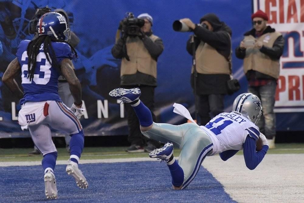 Cowboys 36-35 Giants / AP