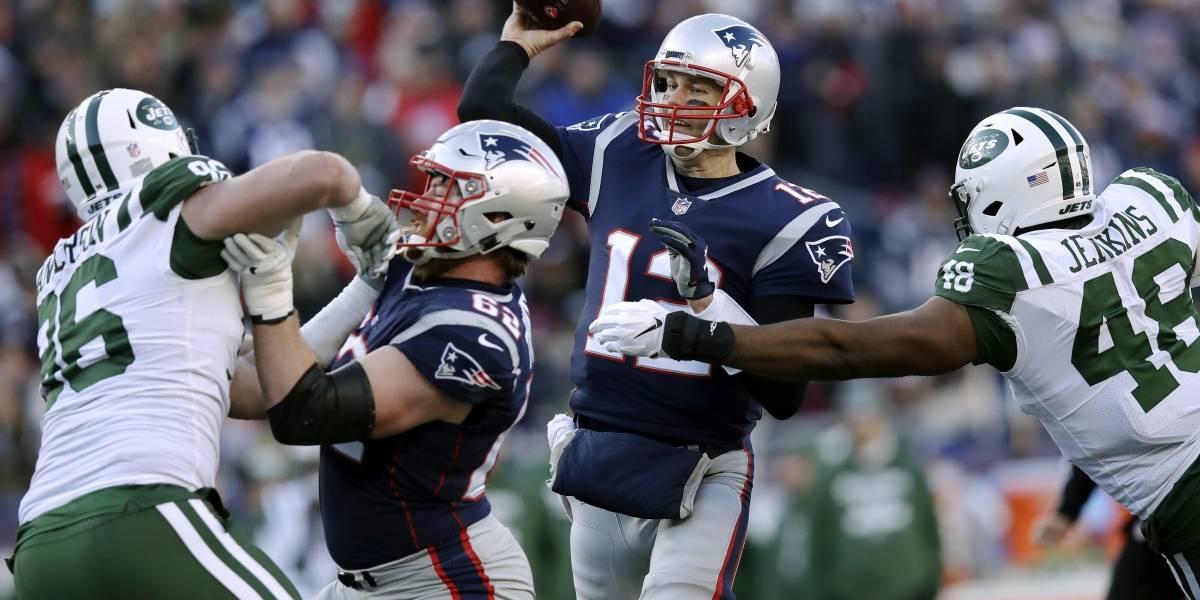 Triunfan los Patriots y aseguran una semana de descanso
