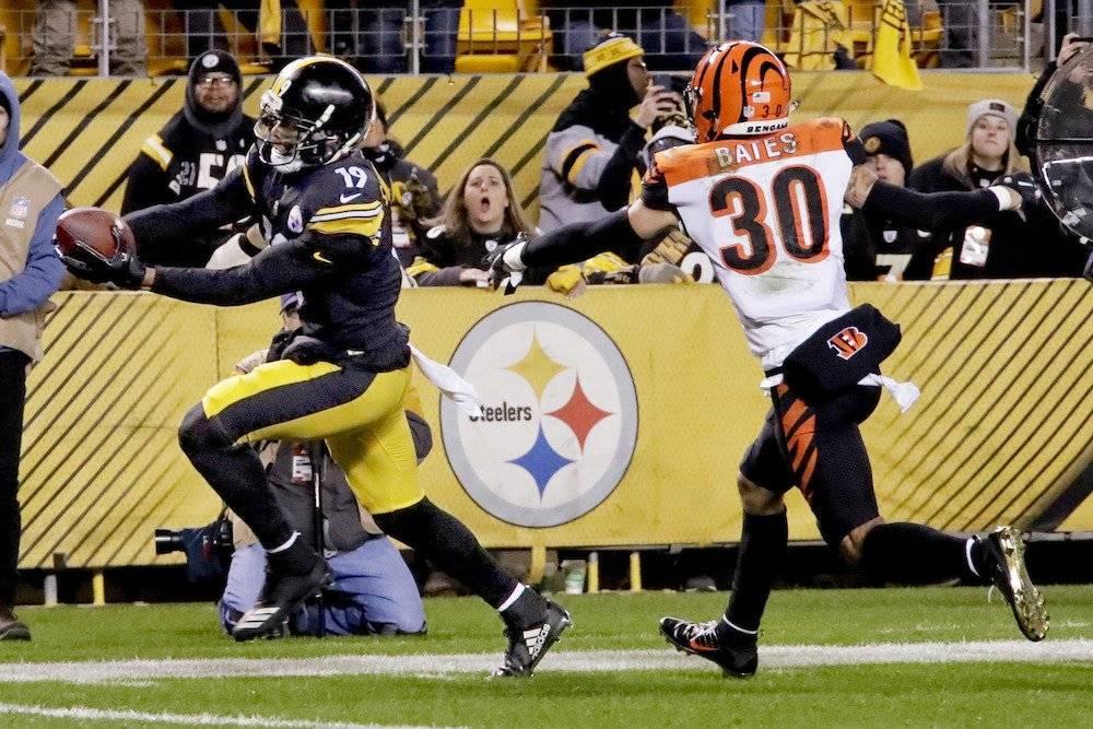 Bengals 13-16 Steelers / AP