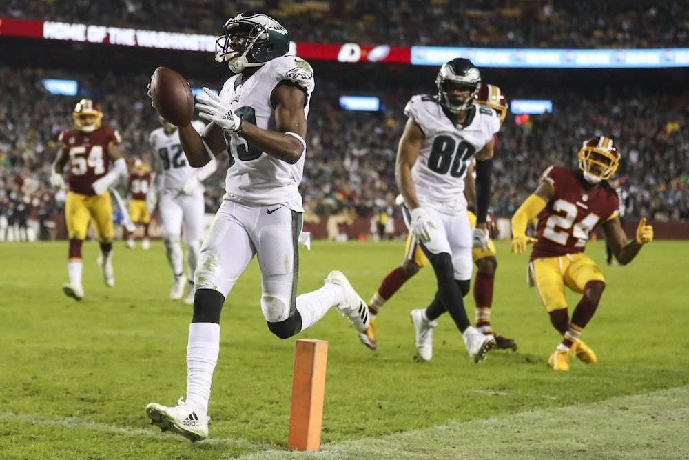 Eagles 24-0 Redskins / AP