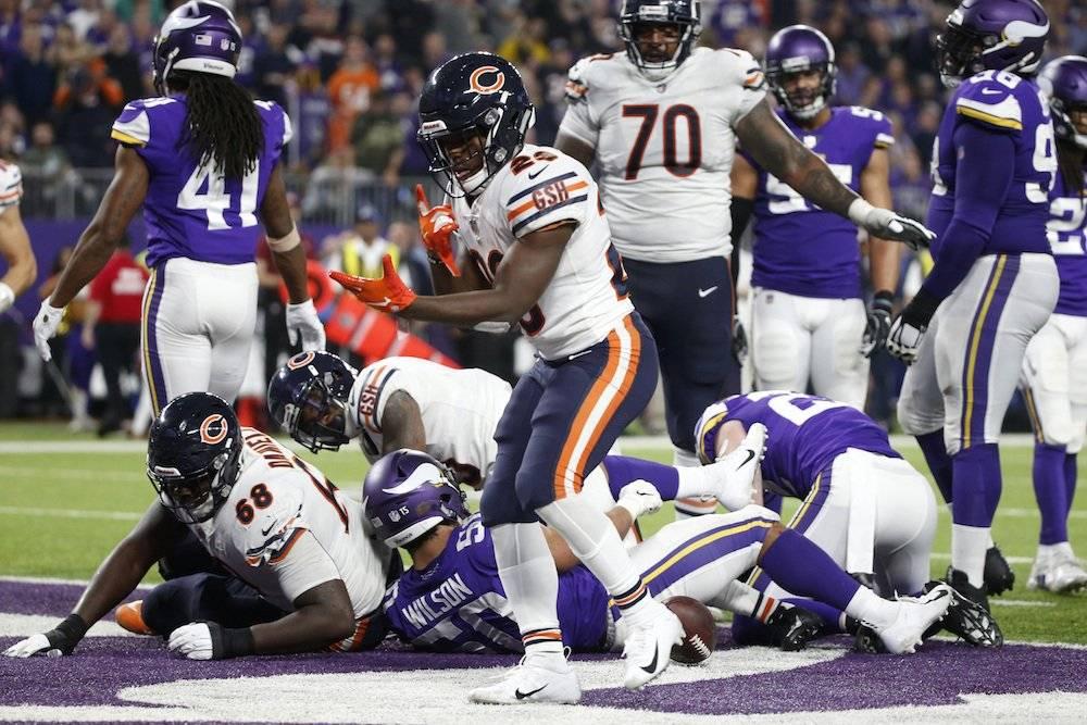 Bears 24-10 Vikings / AP