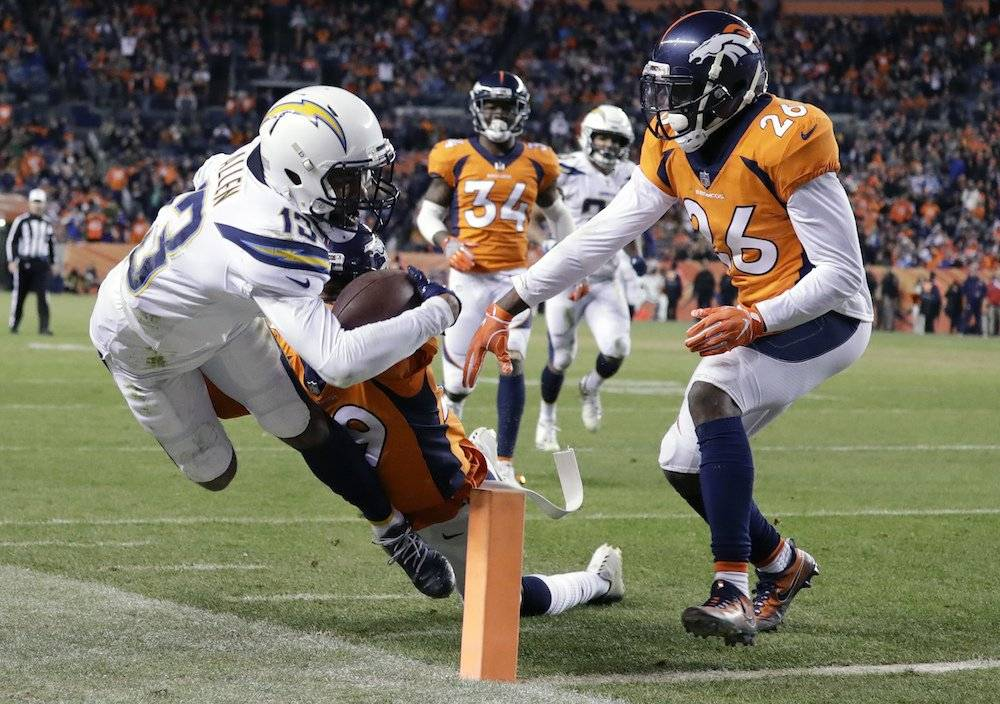 Chargers 23-9 Broncos / AP