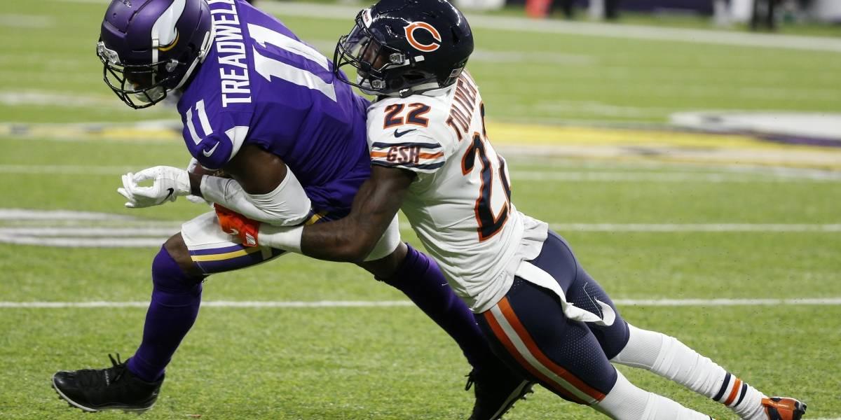 Bears vencen a los Vikings y frenan sus aspiraciones a los playoffs