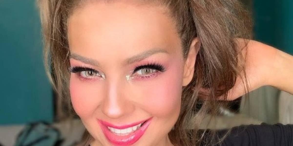 Thalía lista para recibir al Año Nuevo con sorprendente cambio de look