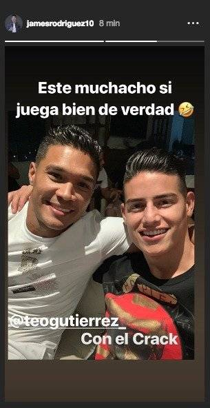 James y Teófilo juntos