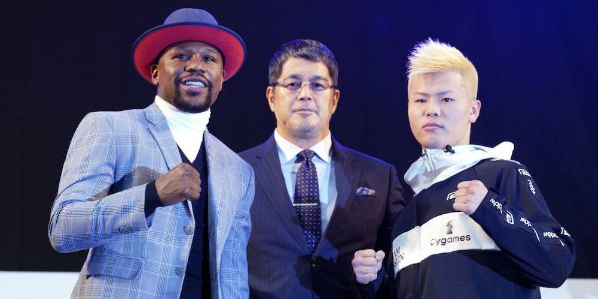 Floyd Mayweather cerrará el año con pelea de exhibición en Japón