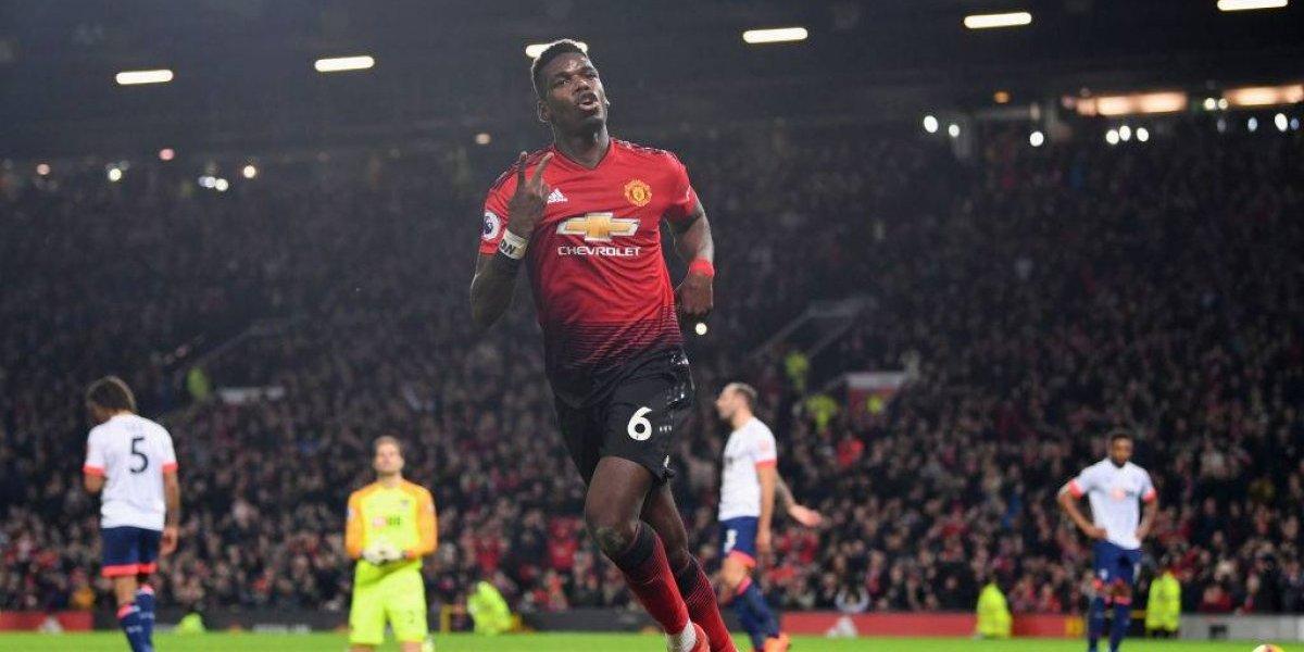 Show de Pogba y goleada inapelable: Los tiempos mejores llegaron al Manchester United