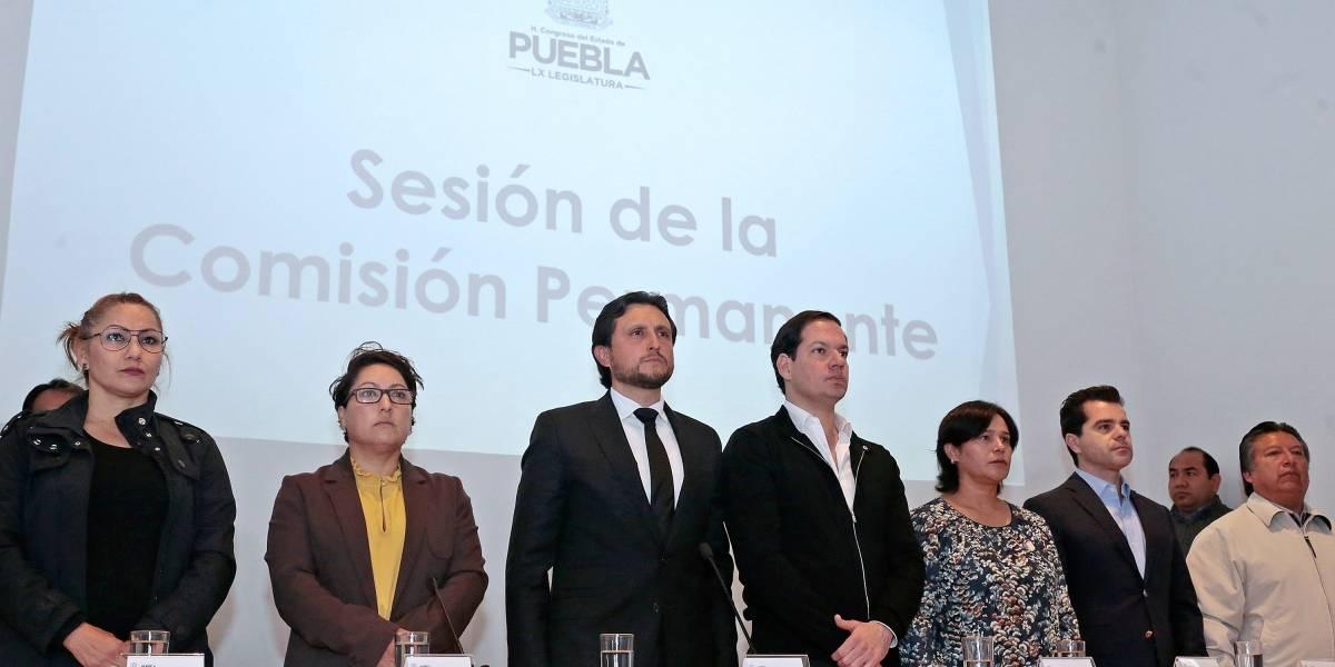 Congreso de Puebla posterga designación de gobernador interino
