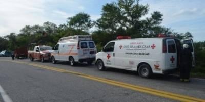 Accidente de autobús en León