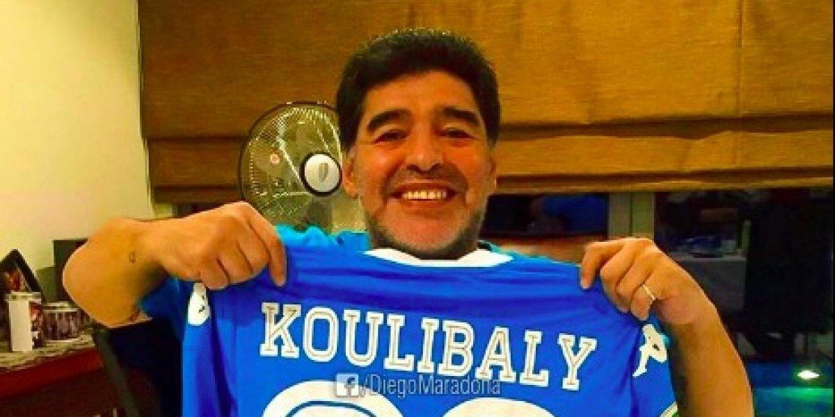 Maradona apoya a Koulibaly: 'Yo también sufrí cantos racistas'