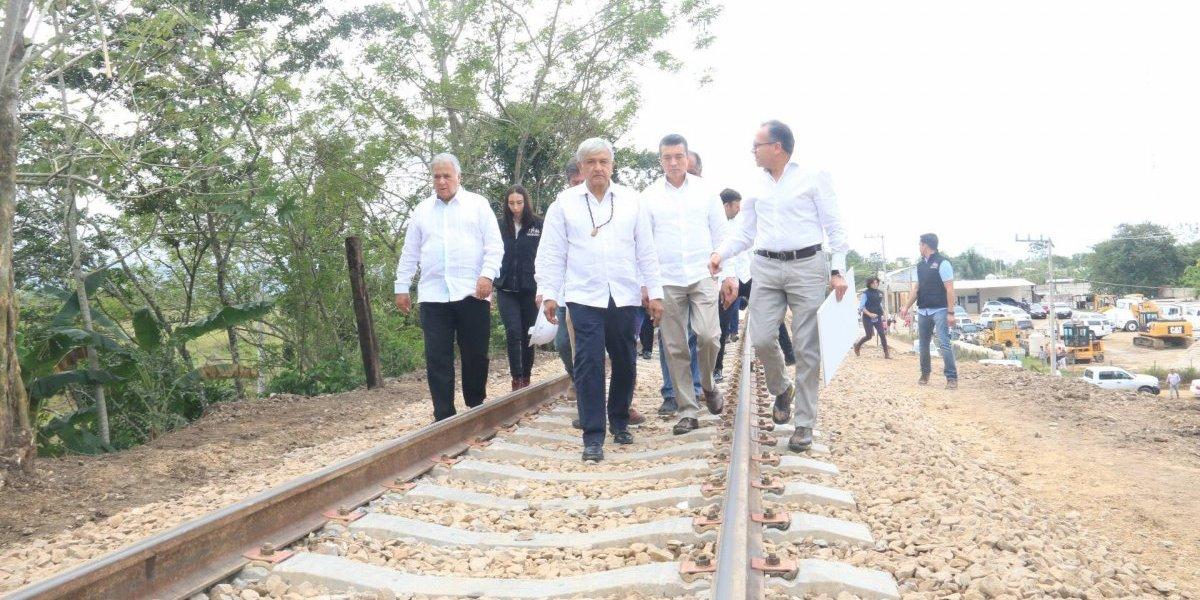 Tren Maya, uno de los sueños que se convertirá en realidad: AMLO