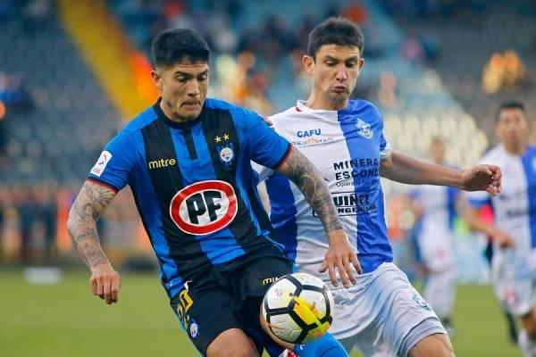 Valber Huerta podría convertirse en nuevo jugador de la UC / Foto: Photosport