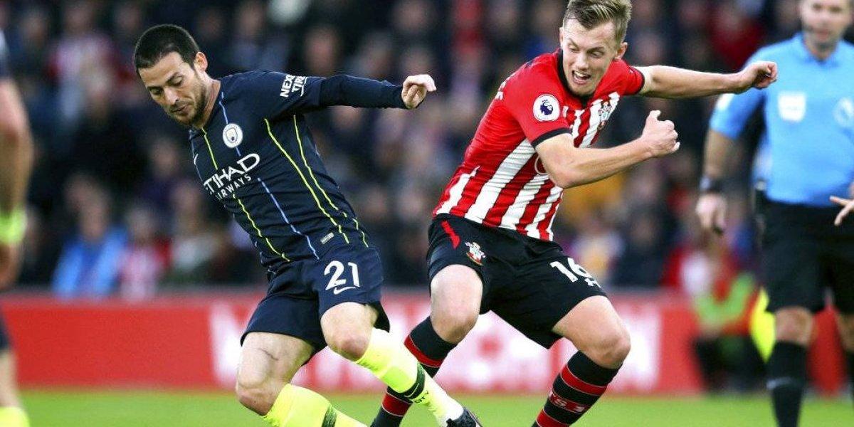 El Manchester City rompe su mala racha venciendo al Southampton