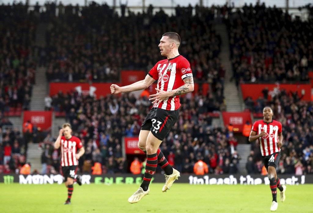 Gol del Southampton contra el Manchester City