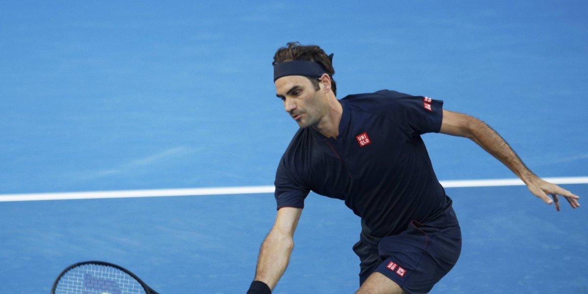 Roger Federer inicia con victoria en la Copa Hopman