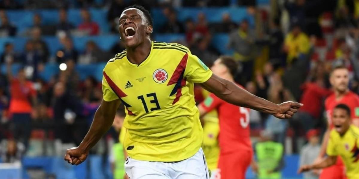 Yerry Mina, elegido el mejor futbolista colombiano del año