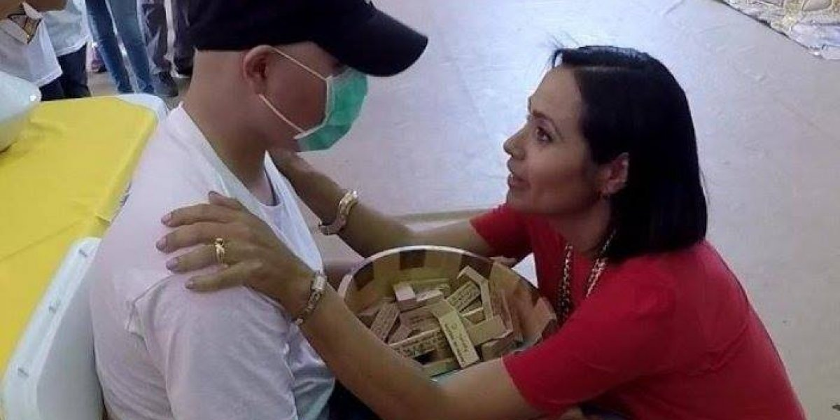 Juan Dalmau recuerda el abrazo de Keylla a su hijo Gabo