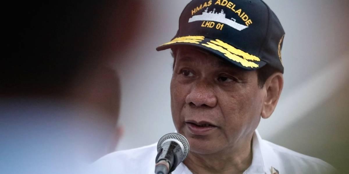 """Em discurso, Duterte descreve como abusou sexualmente de empregada: """"Tentei tocar o que estava dentro da calcinha"""""""