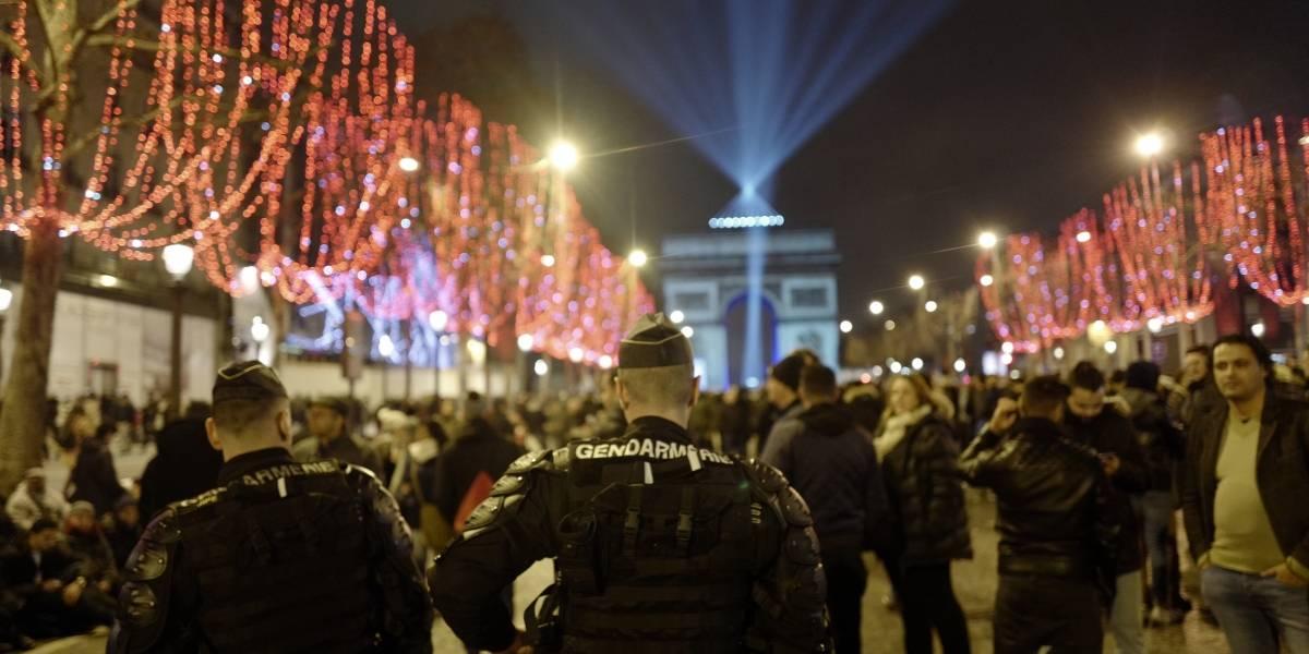 Francia: planean protestas durante celebración de Año Nuevo
