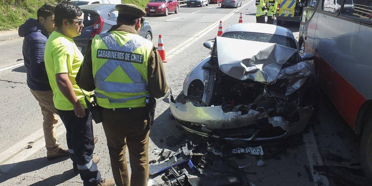 Carabineros entrega preocupante cifra en la víspera de Año Nuevo: 13 fallecidos y más de 300 heridos en accidentes de tránsito