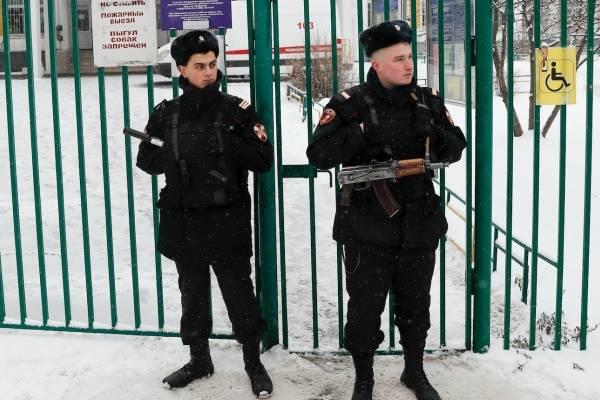 policía Rusia