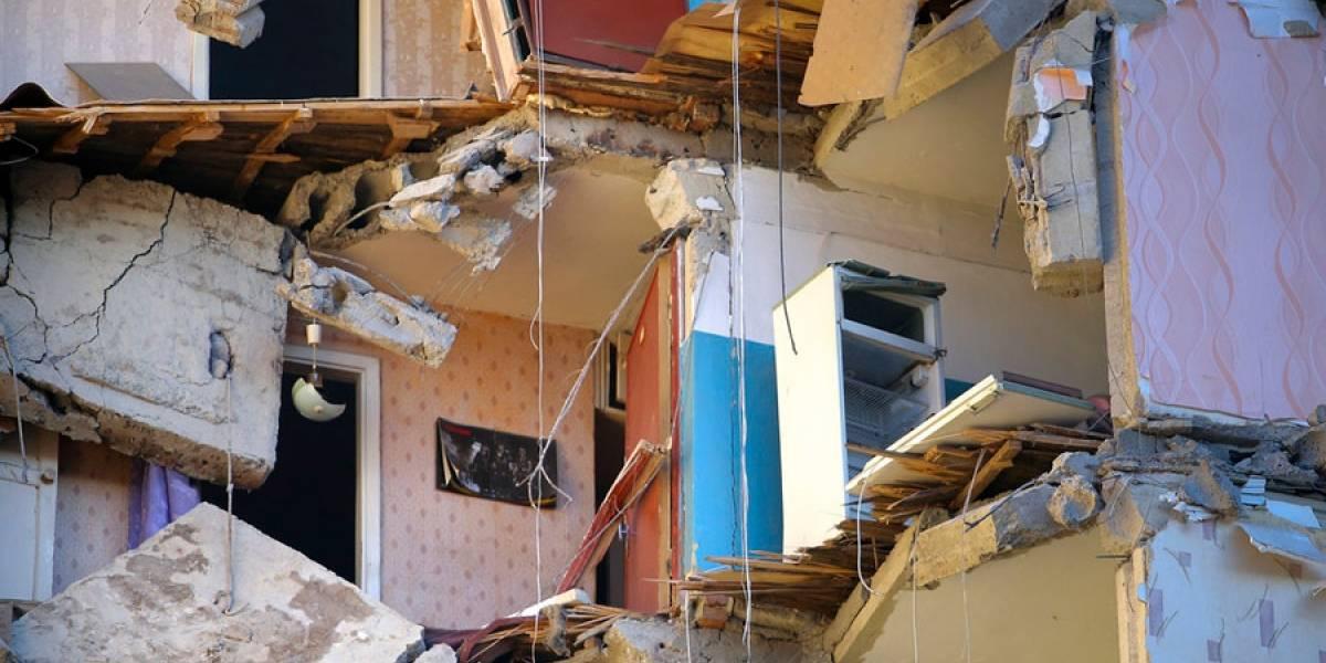 VIDEO. Edificio se derrumba en Rusia y deja 4 muertos