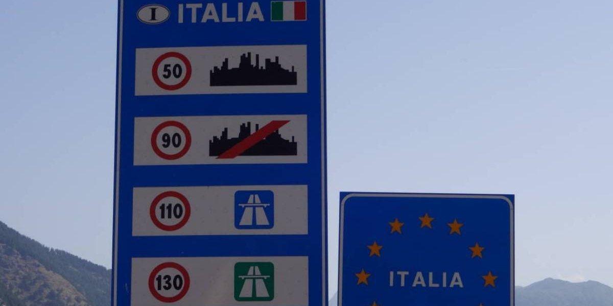 Italia estudia subir su límite en autopistas a 150 km/h