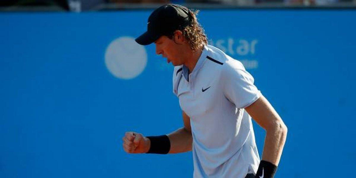 Comenzó la temporada con todo: Nicolás Jarry remontó y logró una importante victoria en el ATP 250 de Doha