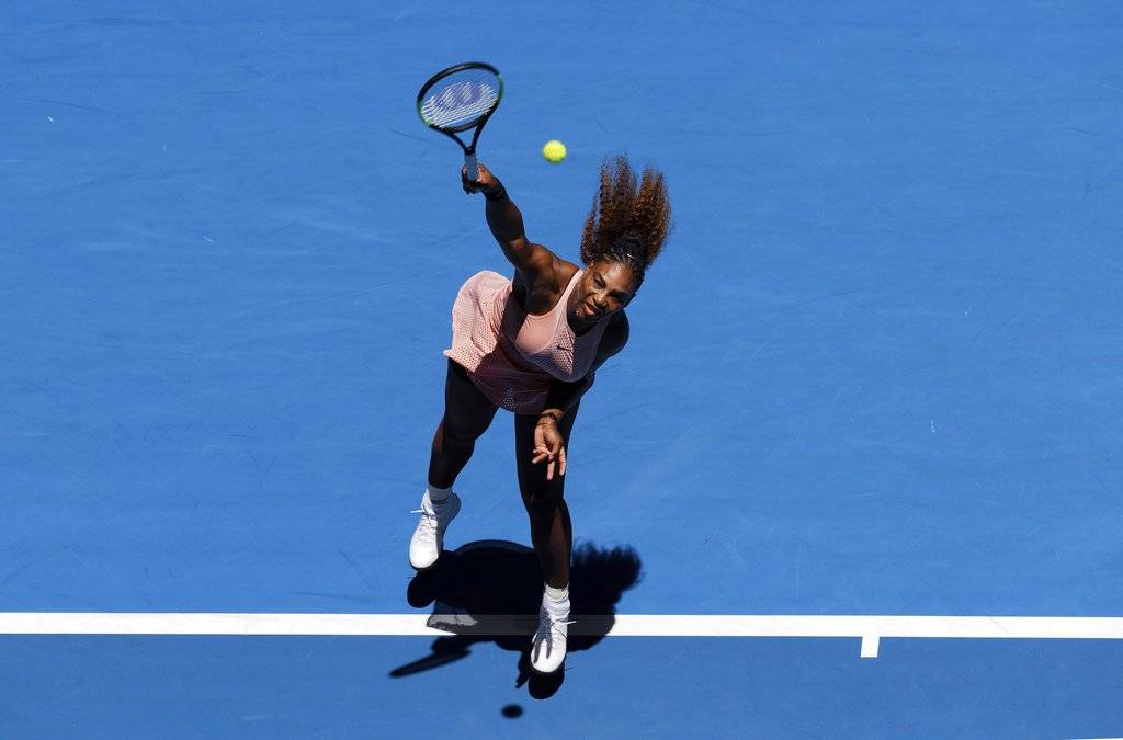 Serena Williams en la Copa Hopman 2018