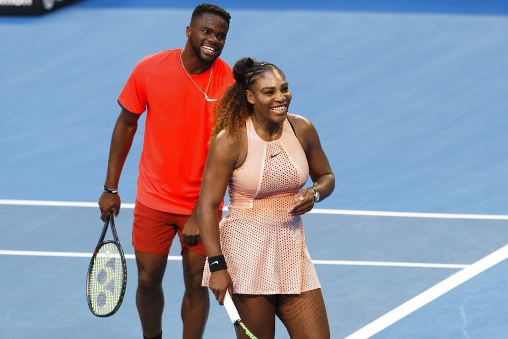 Serena Williams y Frances Tiafoe