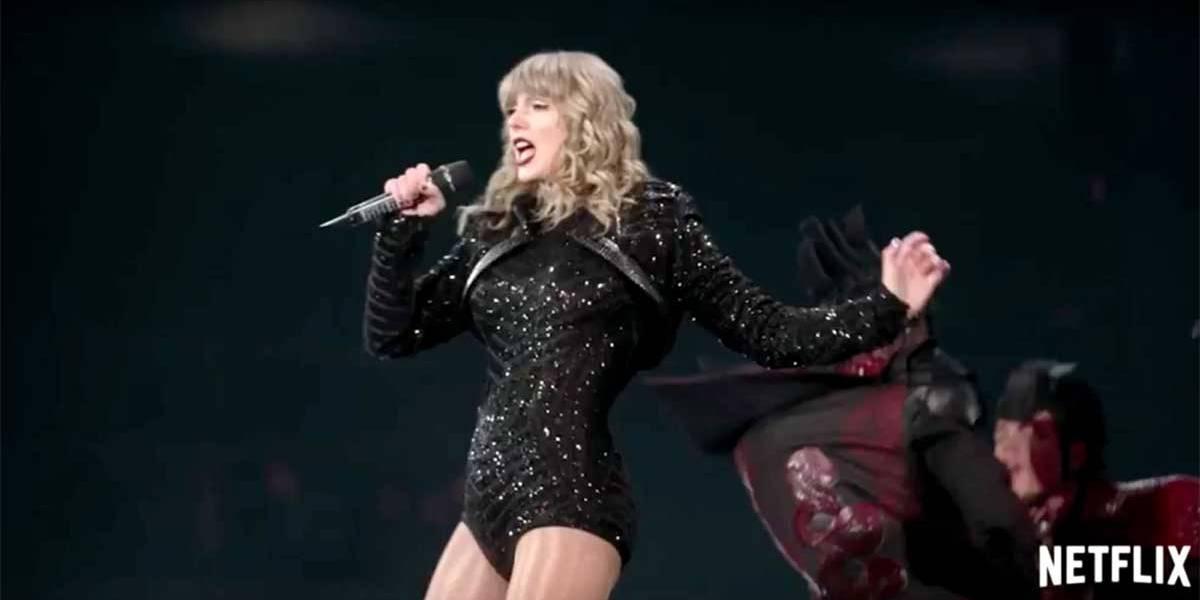 Netflix lança filme-show sobre turnê de Taylor Swift