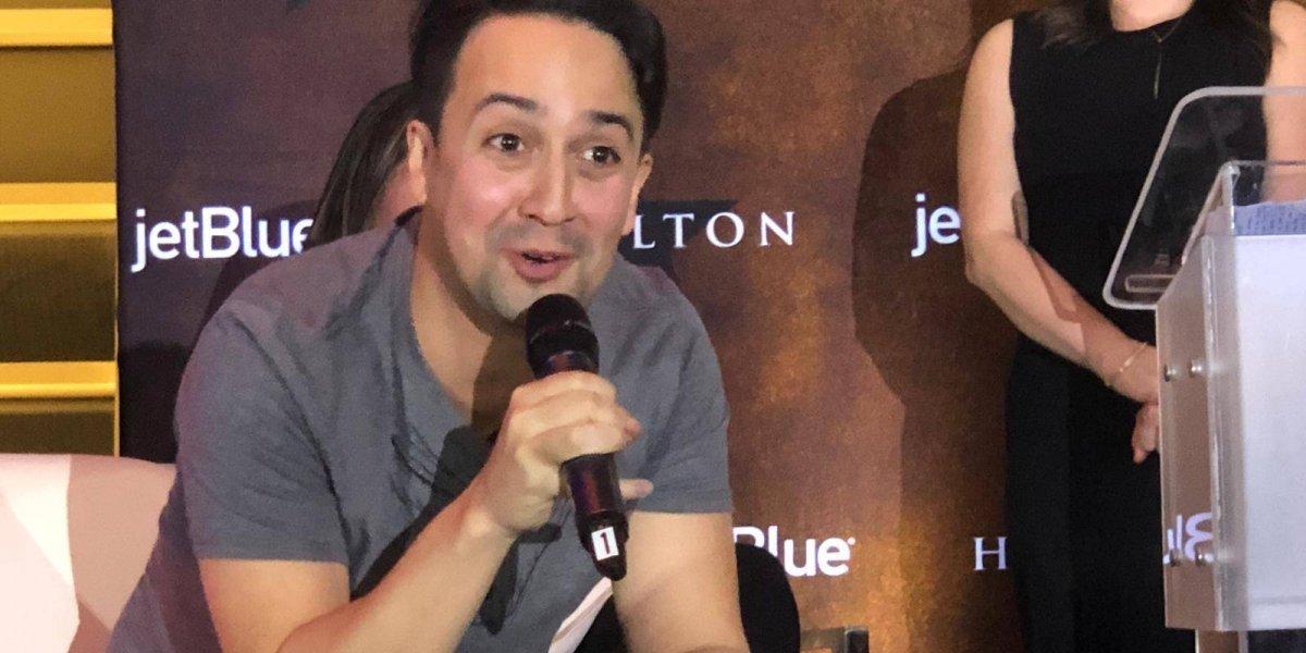 Lin-Manuel repasa su carrera en 2018