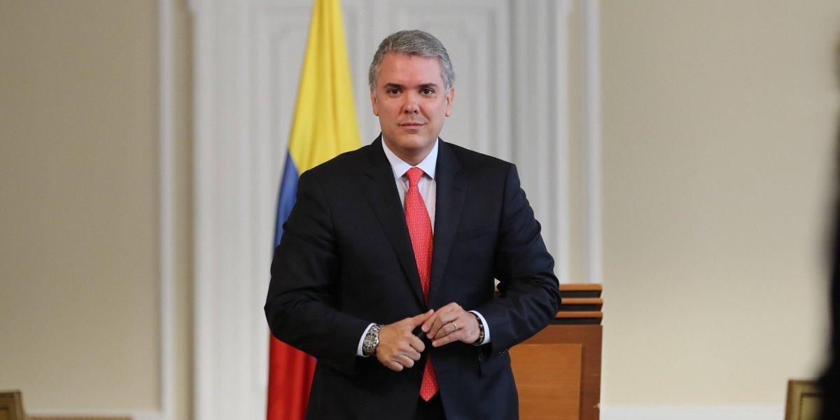 Duque saluda a periodistas liberados en Venezuela, pero no ha aceptado renuncia a Bieri