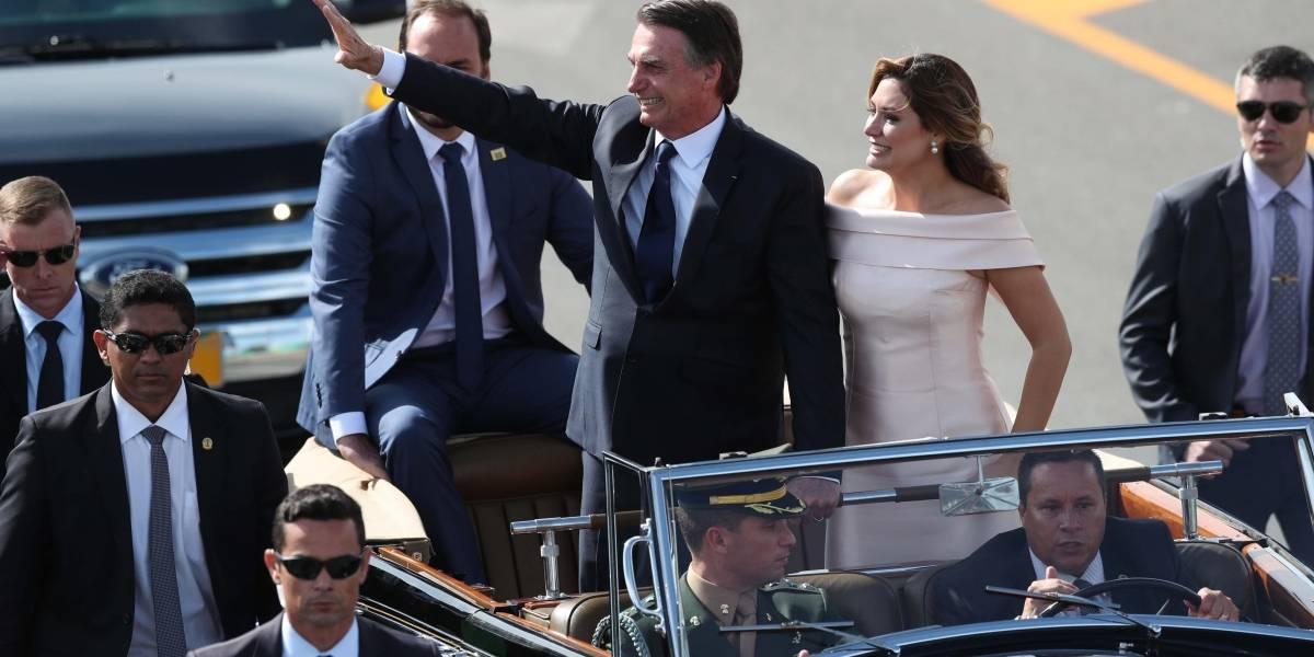 Michelle Bolsonaro dio su discurso como primera dama de Brasil en lenguaje de señas