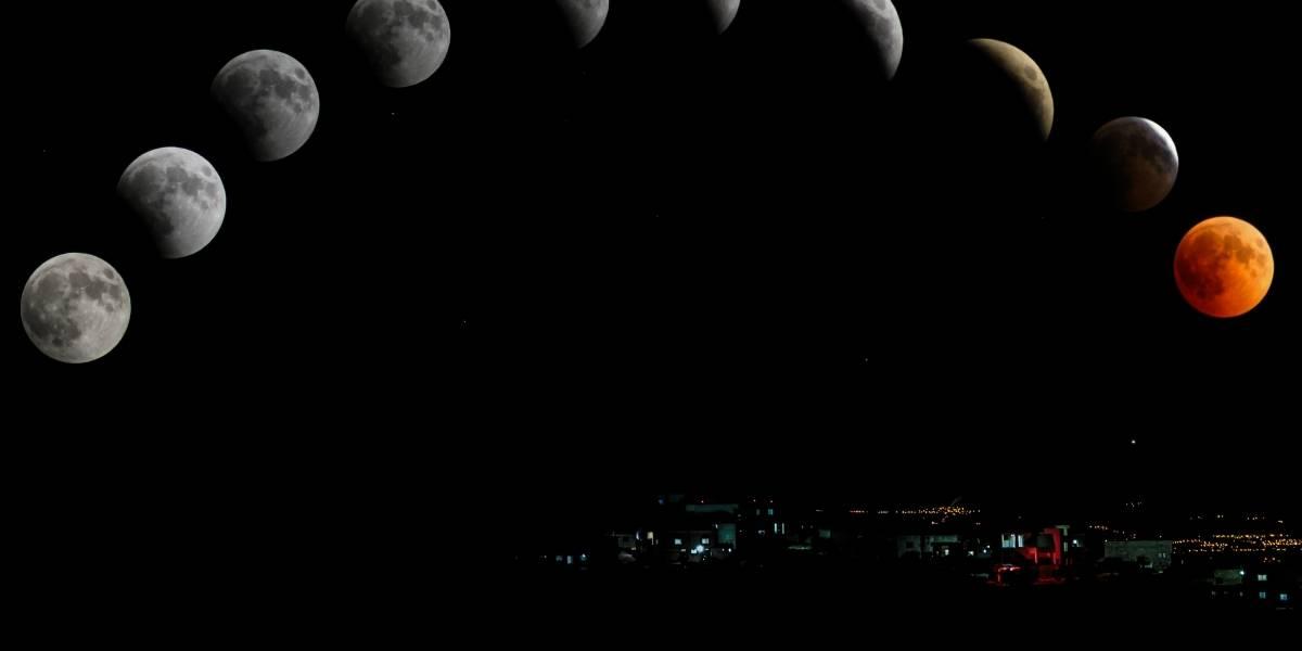 Cómo y dónde se podrá ver el eclipse total y la Superluna de sangre del 20 de enero