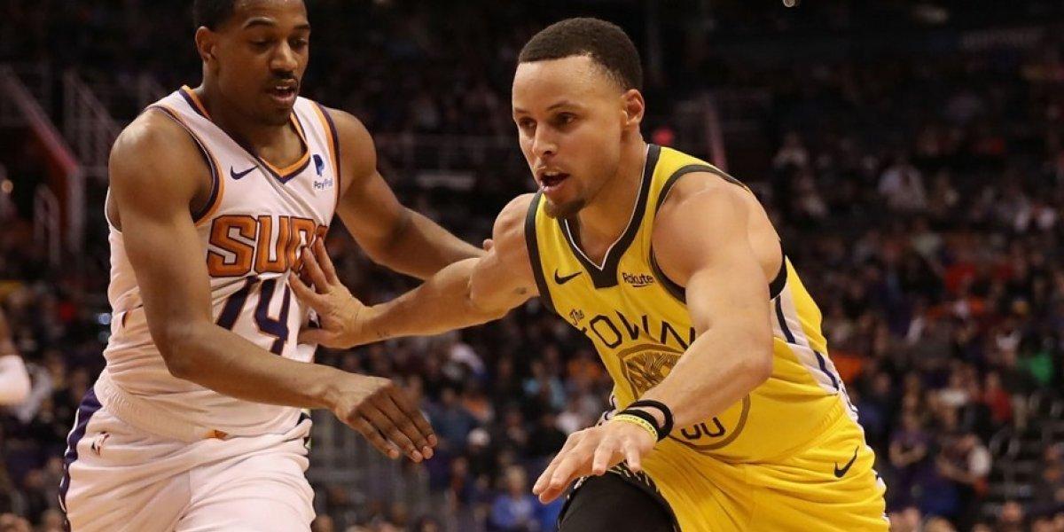 NBA: Warriors le da una paliza a Suns de la mano de Stephen Curry y Kevin Durant