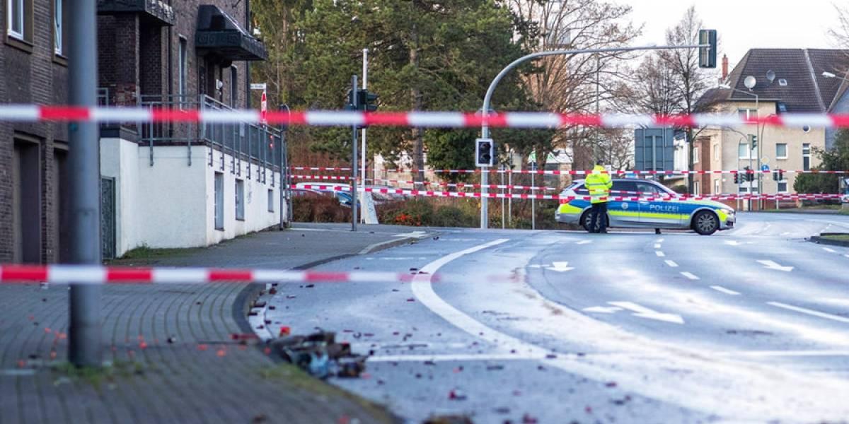 Alemania: hombre embiste su vehículo contra peatones, al menos cuatro heridos