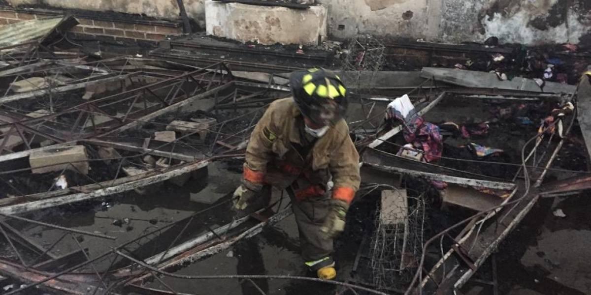 GALERÍA. Las devastadoras imágenes que dejó el incendio en La Antigua