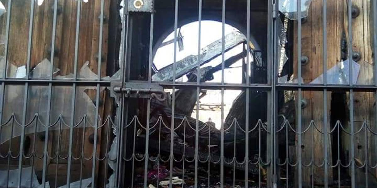 Conred brinda detalles de posible causa del incendio en Antigua y cifra de pérdidas