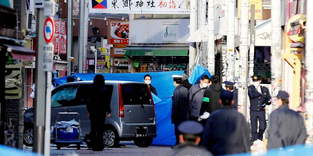 Jovem atropela multidão em Tóquio e deixa 8 feridos