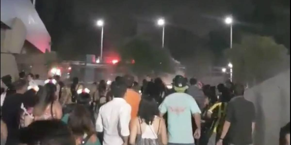 """""""Se robaron todo el copete"""": denunciaron en redes los incidentes en fiesta de Año Nuevo en Movistar Arena"""