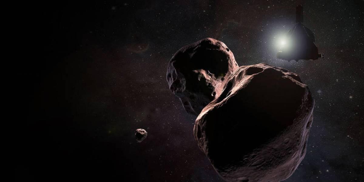VIDEO. La NASA celebra el año nuevo con un histórico sobrevuelo