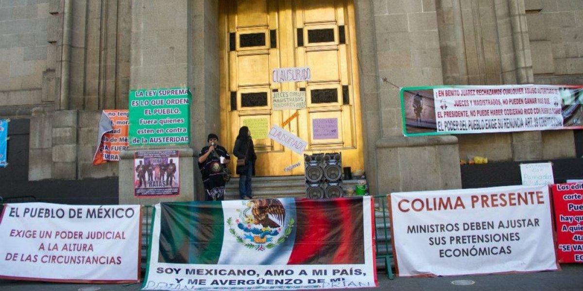 Convocan a protesta en SCJN ante elección del nuevo presidente